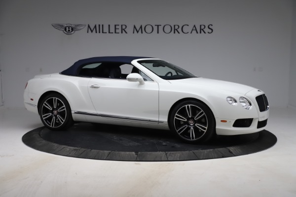 Used 2015 Bentley Continental GTC V8 for sale Sold at Aston Martin of Greenwich in Greenwich CT 06830 19