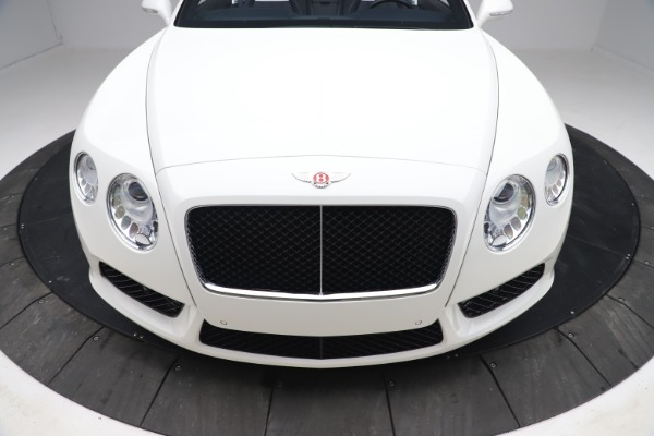 Used 2015 Bentley Continental GTC V8 for sale Sold at Aston Martin of Greenwich in Greenwich CT 06830 21