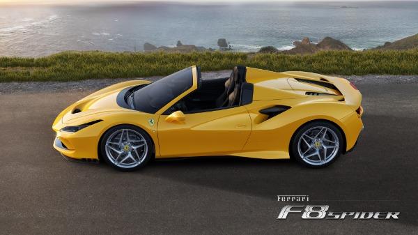 New 2021 Ferrari F8 Spider for sale Sold at Aston Martin of Greenwich in Greenwich CT 06830 2