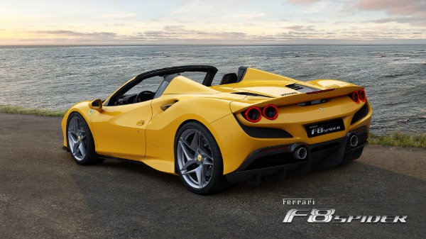 New 2021 Ferrari F8 Spider for sale Sold at Aston Martin of Greenwich in Greenwich CT 06830 4
