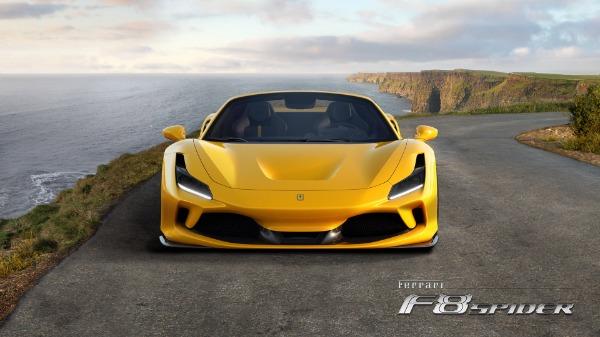 New 2021 Ferrari F8 Spider for sale Sold at Aston Martin of Greenwich in Greenwich CT 06830 5