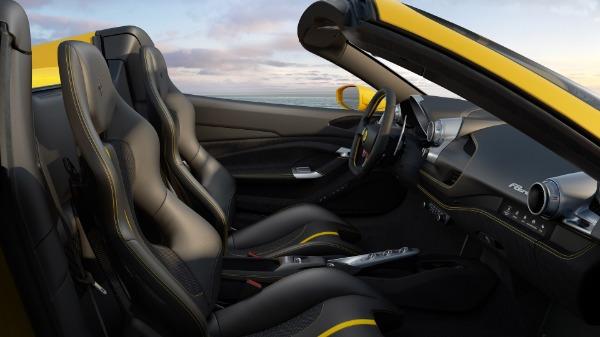 New 2021 Ferrari F8 Spider for sale Sold at Aston Martin of Greenwich in Greenwich CT 06830 7