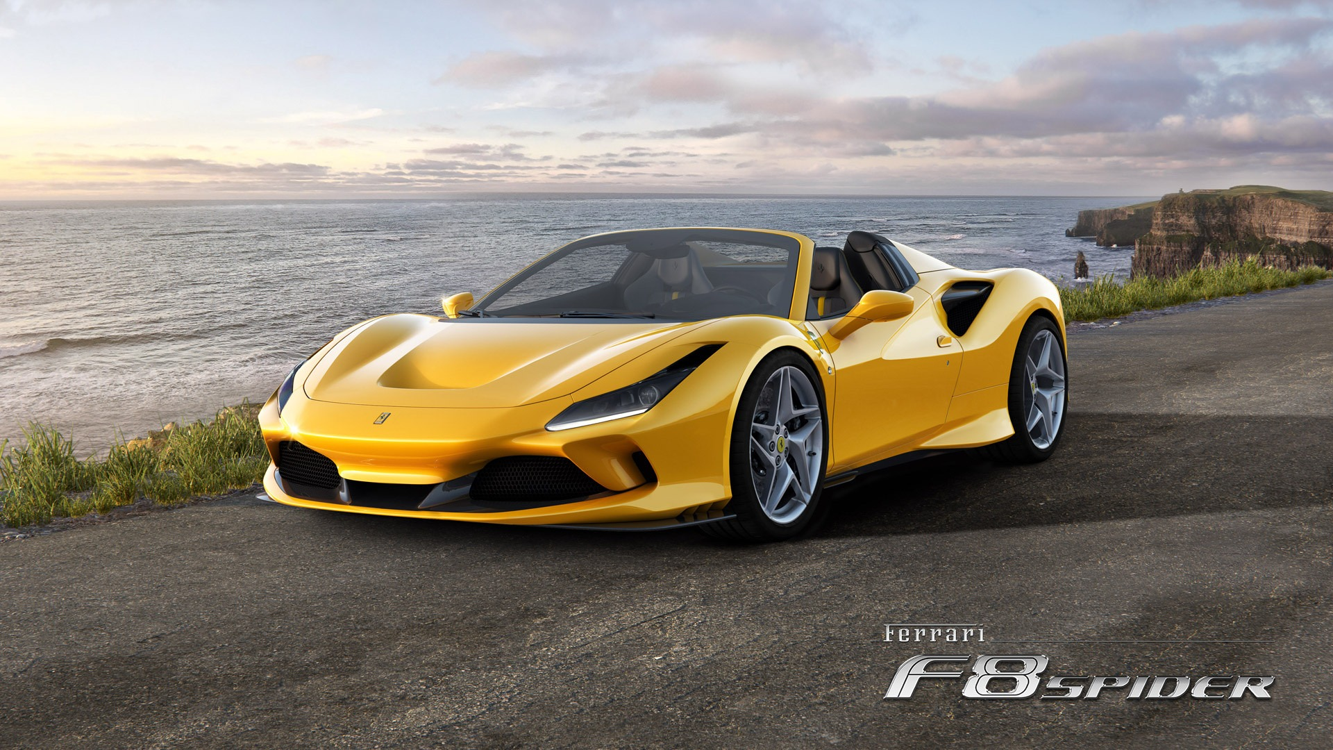 New 2020 Ferrari F8 Spider for sale Call for price at Aston Martin of Greenwich in Greenwich CT 06830 1