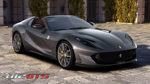 New 2021 Ferrari 812GTS for sale Call for price at Aston Martin of Greenwich in Greenwich CT 06830 2