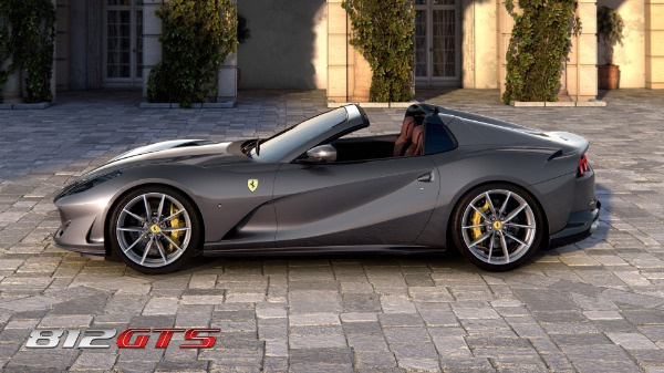 New 2021 Ferrari 812GTS for sale Call for price at Aston Martin of Greenwich in Greenwich CT 06830 3