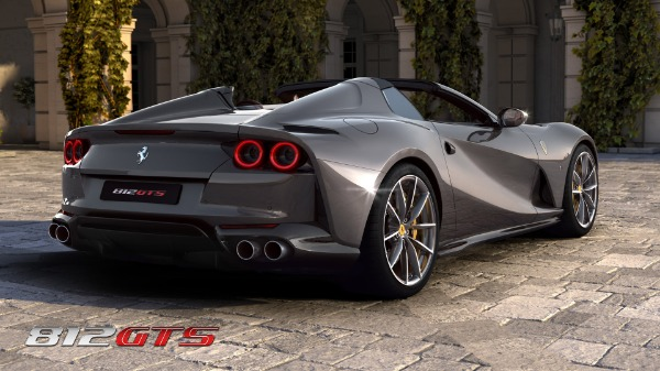 New 2021 Ferrari 812GTS for sale Call for price at Aston Martin of Greenwich in Greenwich CT 06830 5
