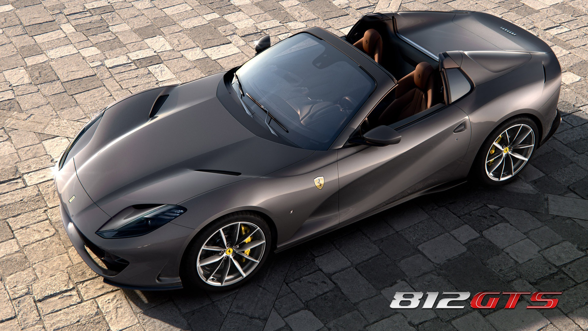 New 2021 Ferrari 812GTS for sale Call for price at Aston Martin of Greenwich in Greenwich CT 06830 1
