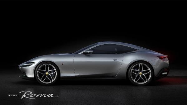 New 2021 Ferrari Roma for sale Call for price at Aston Martin of Greenwich in Greenwich CT 06830 2