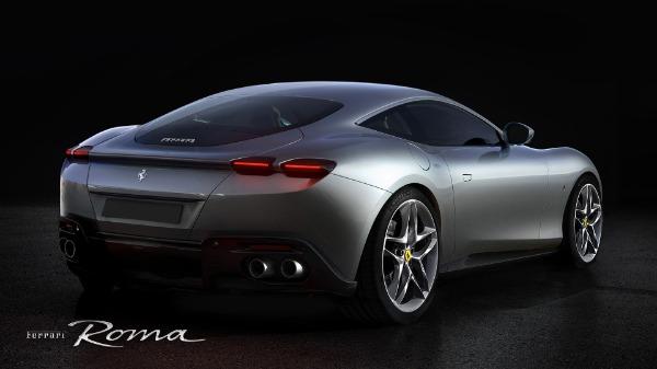 New 2021 Ferrari Roma for sale Call for price at Aston Martin of Greenwich in Greenwich CT 06830 4