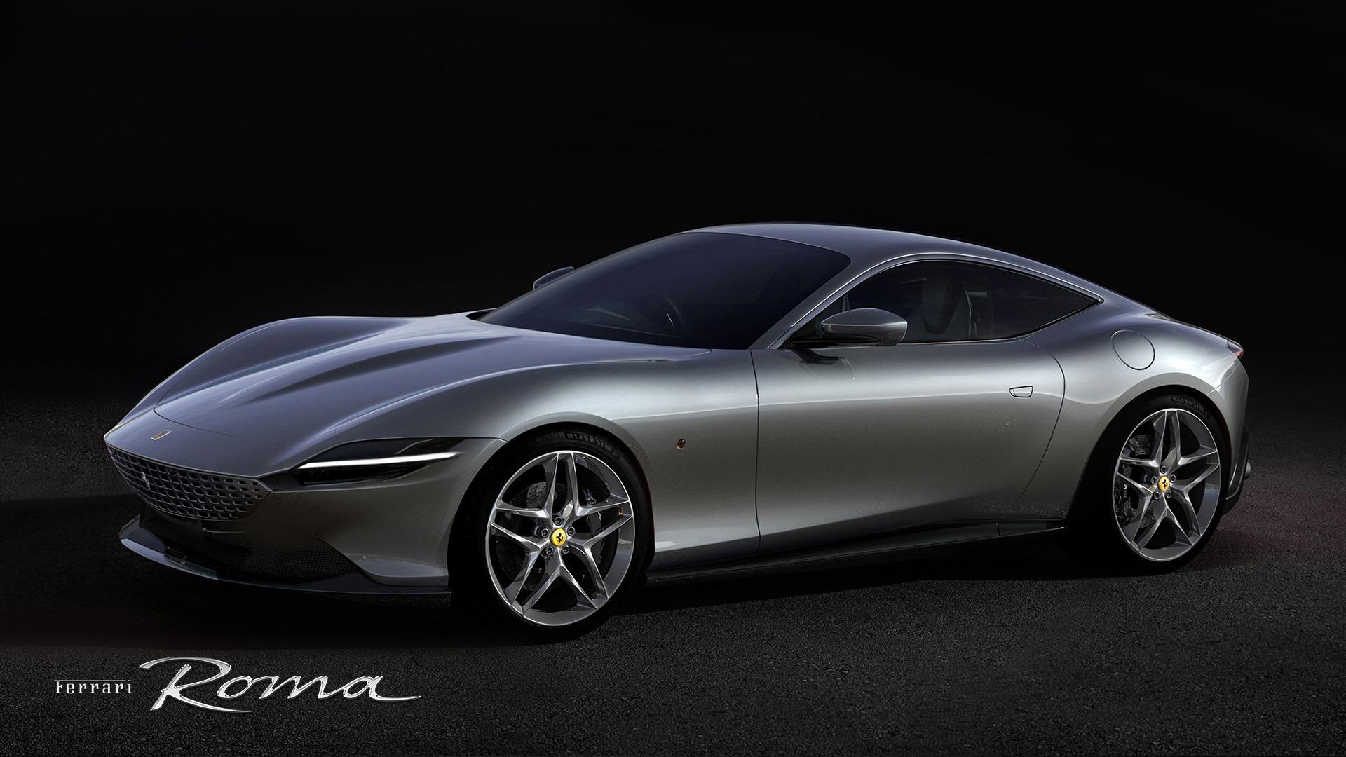 New 2020 Ferrari Roma for sale Call for price at Aston Martin of Greenwich in Greenwich CT 06830 1