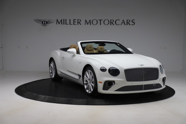 New 2020 Bentley Continental GTC V8 for sale $262,475 at Aston Martin of Greenwich in Greenwich CT 06830 11