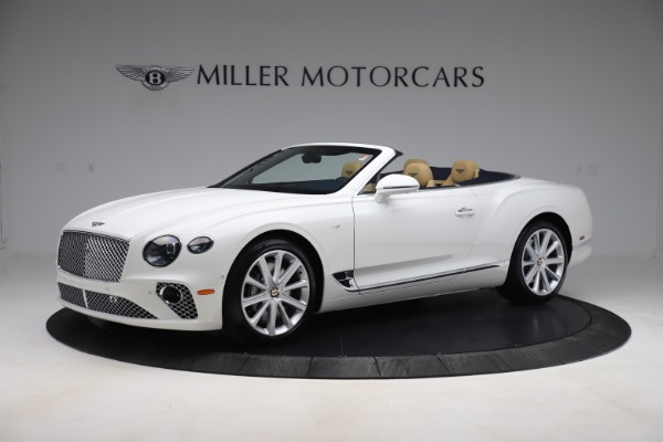 New 2020 Bentley Continental GTC V8 for sale $262,475 at Aston Martin of Greenwich in Greenwich CT 06830 2