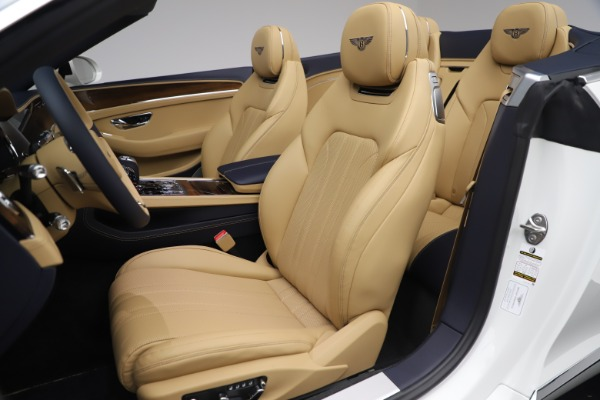 New 2020 Bentley Continental GTC V8 for sale $262,475 at Aston Martin of Greenwich in Greenwich CT 06830 26