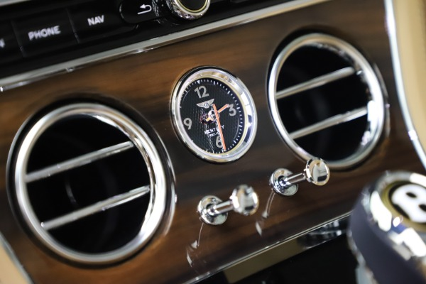 New 2020 Bentley Continental GTC V8 for sale $262,475 at Aston Martin of Greenwich in Greenwich CT 06830 28