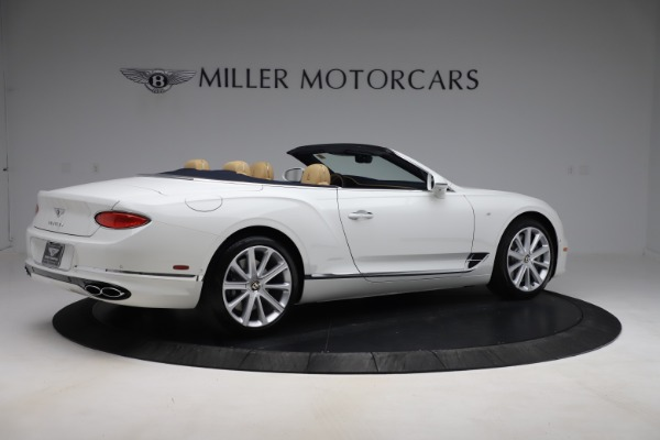 New 2020 Bentley Continental GTC V8 for sale $262,475 at Aston Martin of Greenwich in Greenwich CT 06830 8
