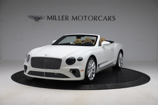New 2020 Bentley Continental GTC V8 for sale $262,475 at Aston Martin of Greenwich in Greenwich CT 06830 1