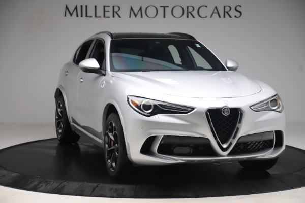 Used 2019 Alfa Romeo Stelvio Quadrifoglio for sale Sold at Aston Martin of Greenwich in Greenwich CT 06830 11