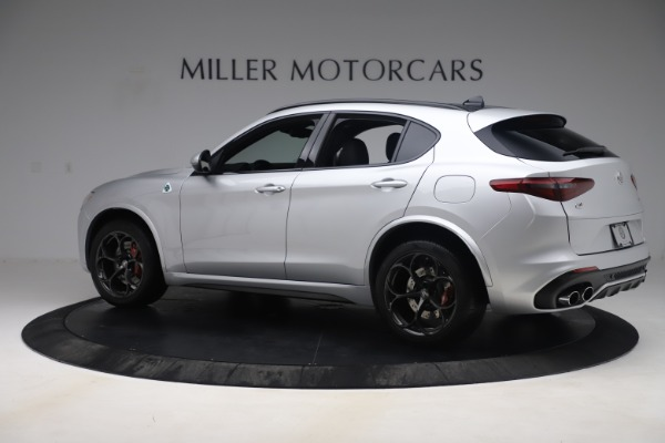 Used 2019 Alfa Romeo Stelvio Quadrifoglio for sale Sold at Aston Martin of Greenwich in Greenwich CT 06830 4