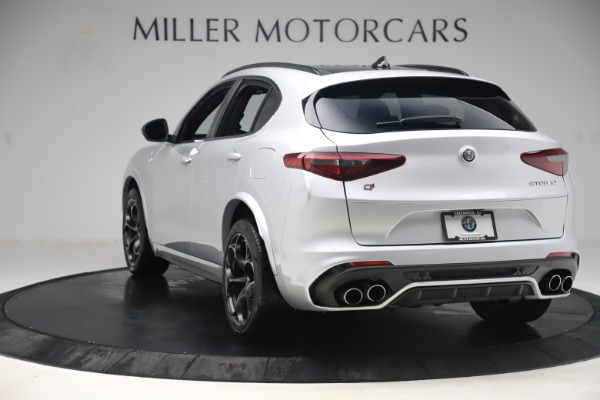 Used 2019 Alfa Romeo Stelvio Quadrifoglio for sale Sold at Aston Martin of Greenwich in Greenwich CT 06830 5