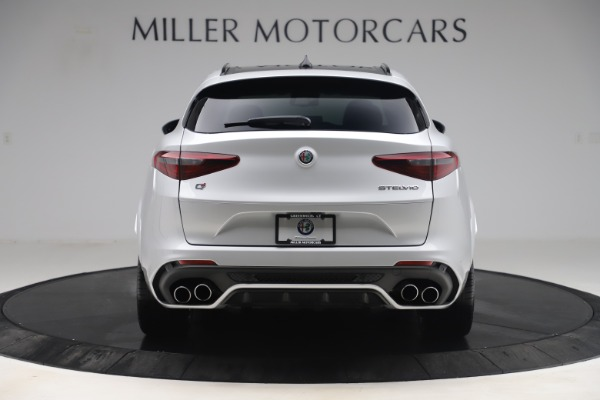 Used 2019 Alfa Romeo Stelvio Quadrifoglio for sale Sold at Aston Martin of Greenwich in Greenwich CT 06830 6