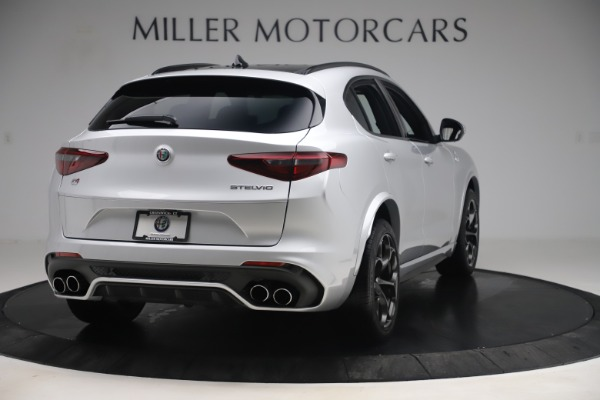 Used 2019 Alfa Romeo Stelvio Quadrifoglio for sale Sold at Aston Martin of Greenwich in Greenwich CT 06830 7