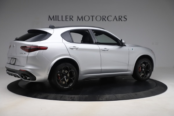 Used 2019 Alfa Romeo Stelvio Quadrifoglio for sale Sold at Aston Martin of Greenwich in Greenwich CT 06830 8