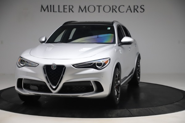 Used 2019 Alfa Romeo Stelvio Quadrifoglio for sale Sold at Aston Martin of Greenwich in Greenwich CT 06830 1