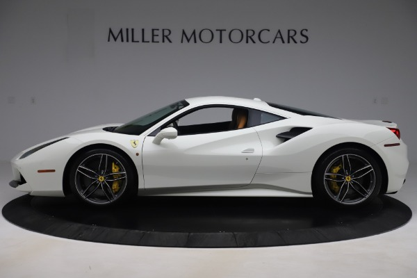 Used 2017 Ferrari 488 GTB for sale $244,900 at Aston Martin of Greenwich in Greenwich CT 06830 3