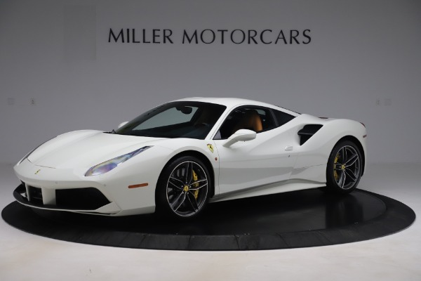 Used 2017 Ferrari 488 GTB for sale $244,900 at Aston Martin of Greenwich in Greenwich CT 06830 1