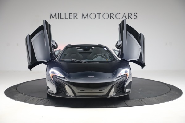 Used 2015 McLaren 650S Spider for sale Sold at Aston Martin of Greenwich in Greenwich CT 06830 9