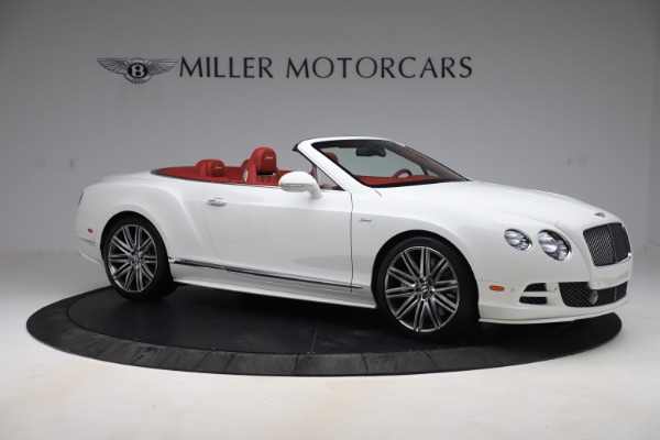 Used 2015 Bentley Continental GTC Speed for sale $125,900 at Aston Martin of Greenwich in Greenwich CT 06830 10