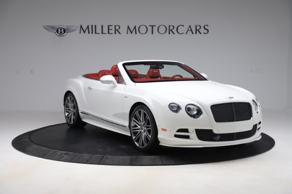 Used 2015 Bentley Continental GTC Speed for sale $125,900 at Aston Martin of Greenwich in Greenwich CT 06830 11