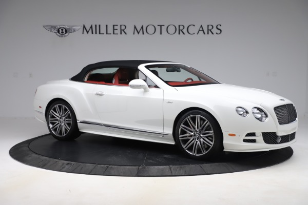 Used 2015 Bentley Continental GTC Speed for sale $125,900 at Aston Martin of Greenwich in Greenwich CT 06830 18