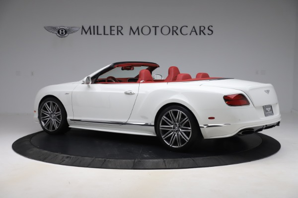 Used 2015 Bentley Continental GTC Speed for sale $125,900 at Aston Martin of Greenwich in Greenwich CT 06830 4
