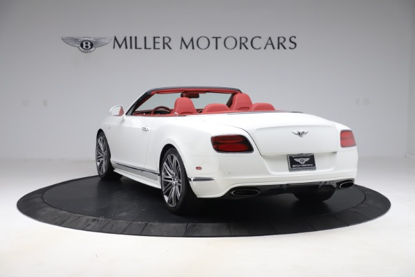 Used 2015 Bentley Continental GTC Speed for sale $125,900 at Aston Martin of Greenwich in Greenwich CT 06830 5