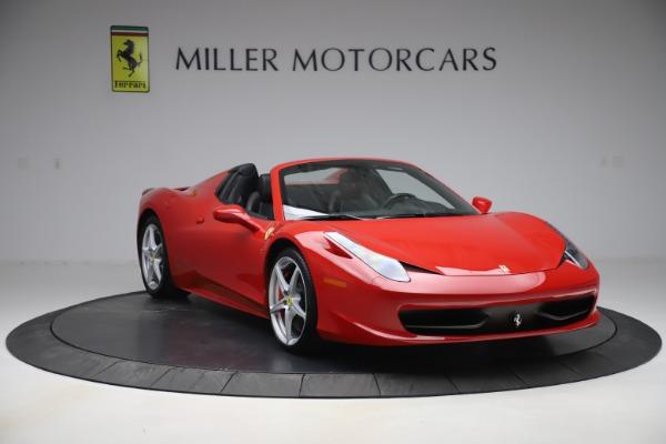 Used 2015 Ferrari 458 Spider for sale $235,900 at Aston Martin of Greenwich in Greenwich CT 06830 11