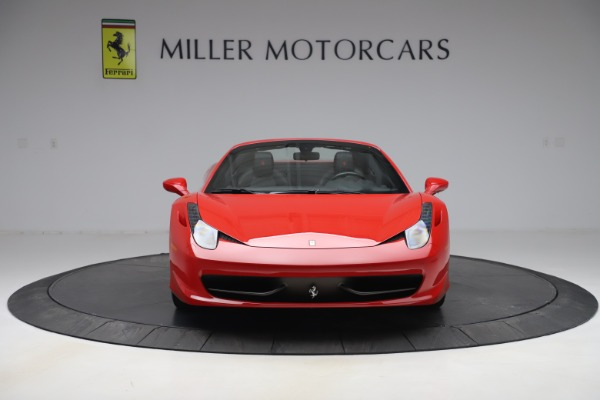 Used 2015 Ferrari 458 Spider for sale Sold at Aston Martin of Greenwich in Greenwich CT 06830 12