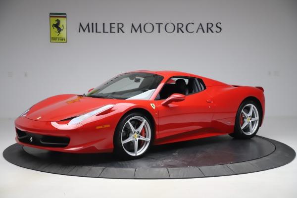 Used 2015 Ferrari 458 Spider for sale $235,900 at Aston Martin of Greenwich in Greenwich CT 06830 13