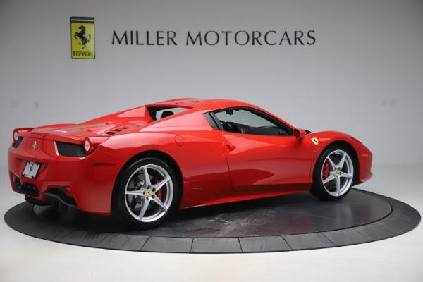 Used 2015 Ferrari 458 Spider for sale $235,900 at Aston Martin of Greenwich in Greenwich CT 06830 17