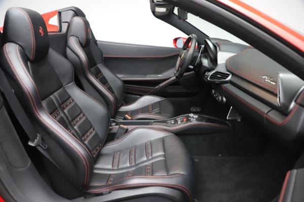 Used 2015 Ferrari 458 Spider for sale $235,900 at Aston Martin of Greenwich in Greenwich CT 06830 24