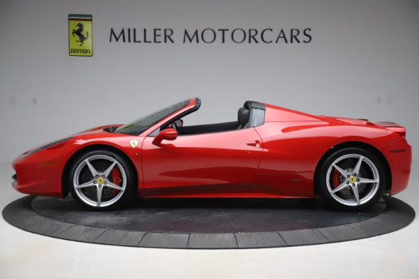 Used 2015 Ferrari 458 Spider for sale $235,900 at Aston Martin of Greenwich in Greenwich CT 06830 3