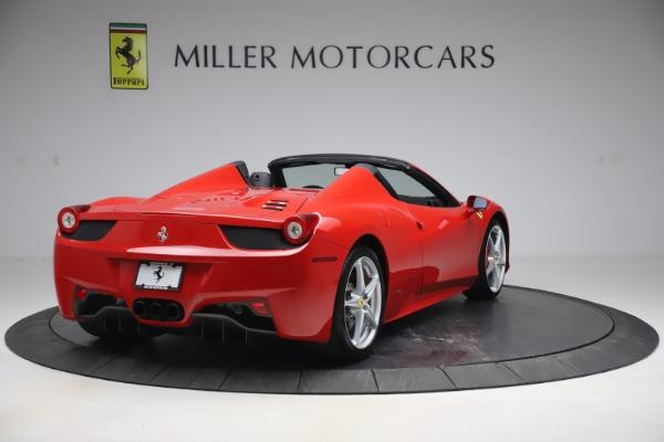 Used 2015 Ferrari 458 Spider for sale $235,900 at Aston Martin of Greenwich in Greenwich CT 06830 7