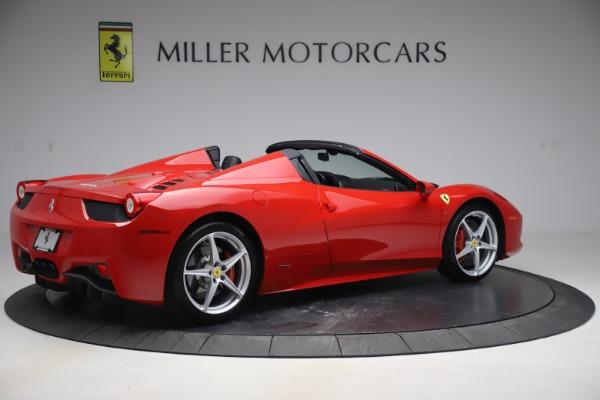 Used 2015 Ferrari 458 Spider for sale $235,900 at Aston Martin of Greenwich in Greenwich CT 06830 8