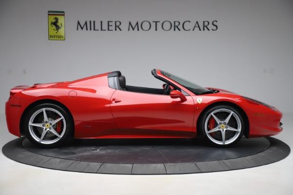 Used 2015 Ferrari 458 Spider for sale $235,900 at Aston Martin of Greenwich in Greenwich CT 06830 9