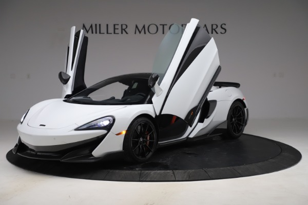 Used 2019 McLaren 600LT Coupe for sale $237,900 at Aston Martin of Greenwich in Greenwich CT 06830 10