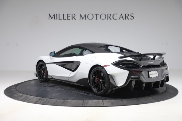 Used 2019 McLaren 600LT Coupe for sale $237,900 at Aston Martin of Greenwich in Greenwich CT 06830 3