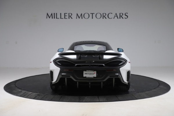 Used 2019 McLaren 600LT Coupe for sale $237,900 at Aston Martin of Greenwich in Greenwich CT 06830 4