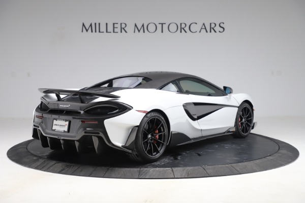 Used 2019 McLaren 600LT Coupe for sale $237,900 at Aston Martin of Greenwich in Greenwich CT 06830 5
