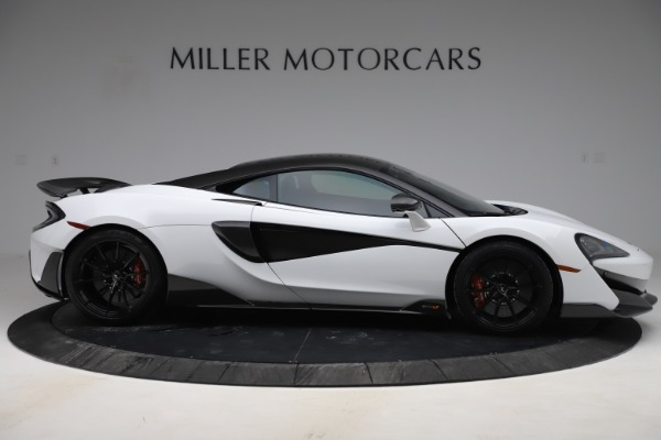 Used 2019 McLaren 600LT Coupe for sale $237,900 at Aston Martin of Greenwich in Greenwich CT 06830 6