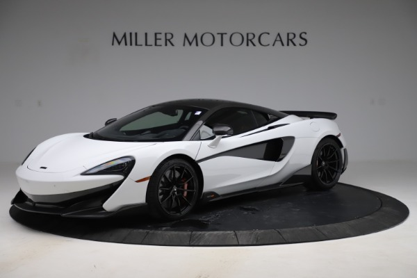 Used 2019 McLaren 600LT Coupe for sale $219,900 at Aston Martin of Greenwich in Greenwich CT 06830 1